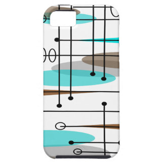 Atomic Era Inspired Mid-Century Design 13 iPhone SE/5/5s Case