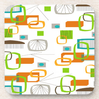 Atomic Era Inspired Mid-Century Design 21 Drink Coaster