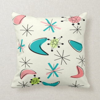Atomic Era Inspired Pillow Design Mid-Century