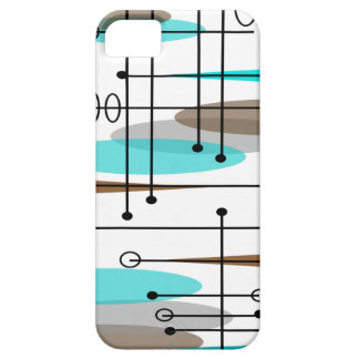Atomic Era Mid-Century Modern Abstract iPhone SE/5/5s Case