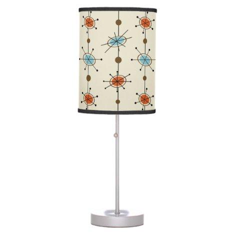Atomic Era Satellites Table Lamp