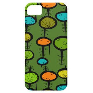 Atomic Era Space Age iPhone 5/5S case Green