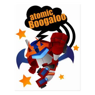 Atomic Fighter R-Savior Postcard
