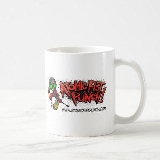 ATOMIC FIST PUNCH COFFEE MUG