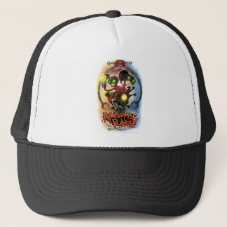 ATOMIC FIST PUNCH Hat!!! Trucker Hat