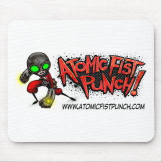 ATOMIC FIST PUNCH MOUSE PAD