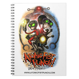ATOMIC FIST PUNCH Notebook! Note Book