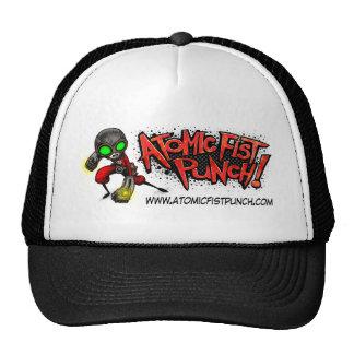 ATOMIC FIST PUNCH TRUCKER HAT