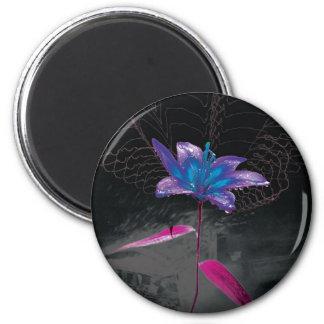 Atomic Flower Refrigerator Magnets