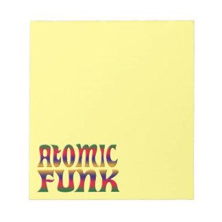 ATOMIC FUNK NOTEPAD
