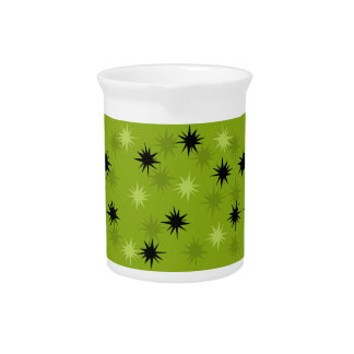 Atomic Green Starbursts Pitcher