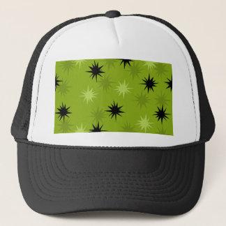 Atomic Green Starbursts Trucker Hat