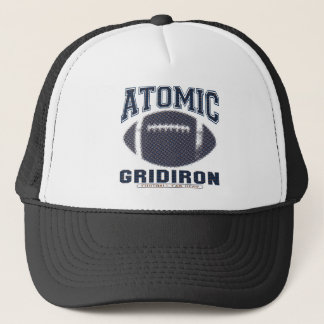 Atomic Gridiron Blue and Orange Trucker Hat