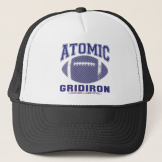 Atomic Gridiron Blue and Red Trucker Hat