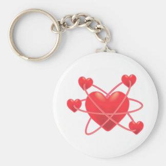 Atomic Hearts Keychain
