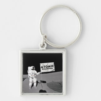 Atomic in Space Keychain