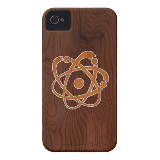 Atomic Inlay iPhone 4 Case