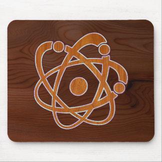 Atomic Inlay Mouse Pad