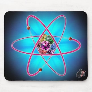 Atomic Jewels Mouse Pad