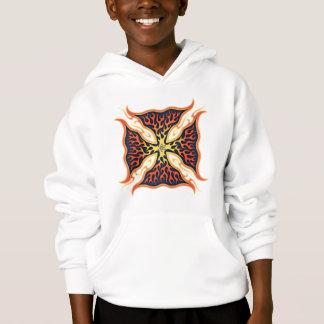 Atomic Maltese Cross Hoodie