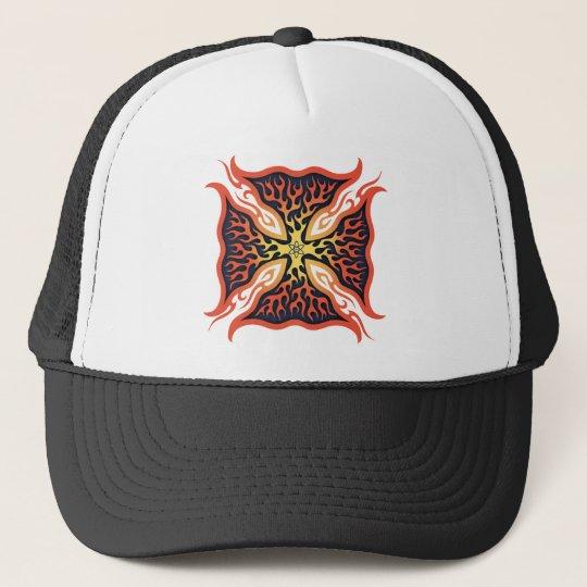 Atomic Maltese Cross Trucker Hat