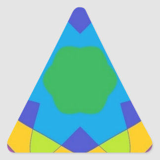 ATOMIC MASS TRIANGLE STICKER