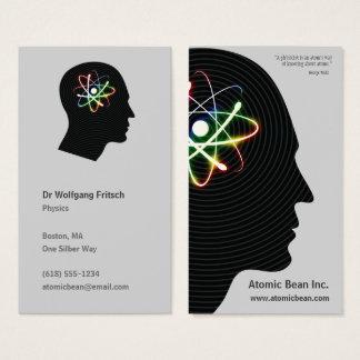 Atomic Mind | Scientist Business Card