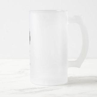 Atomic Nerd super villan frosted mug