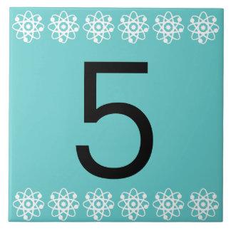 Atomic Number Tile