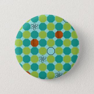 Atomic Octagons Button