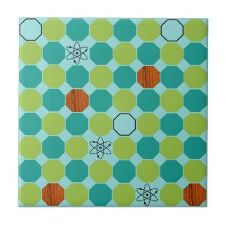 Atomic Octagons Ceramic Tile