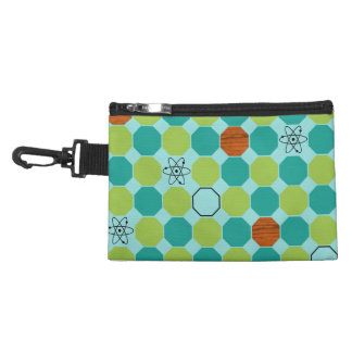 Atomic Octagons Clip On Accessory Bag