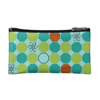 Atomic Octagons Cosmetic Bag