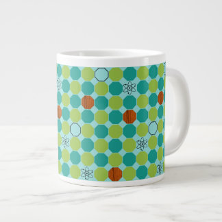 Atomic Octagons Jumbo Mug