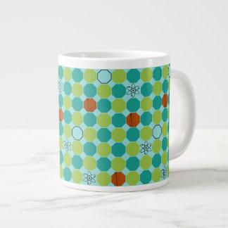 Atomic Octagons Jumbo Mug