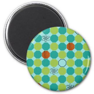 Atomic Octagons Magnet