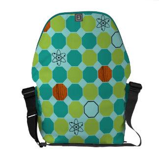 Atomic Octagons Messenger Bag
