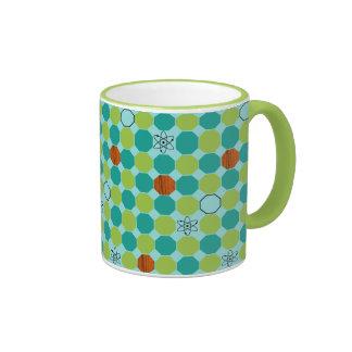 Atomic Octagons Ringer Mug