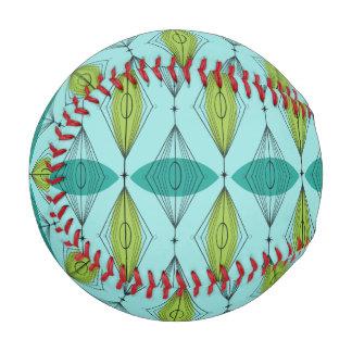 Atomic Ogee and Starbursts Baseball