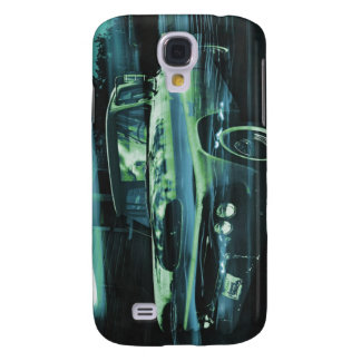 Atomic Old Timer bluer Galaxy S4 Cover