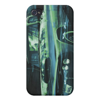Atomic Old Timer bluer iPhone 4/4S Case