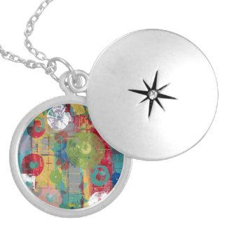 Atomic Orbital Locket Necklace