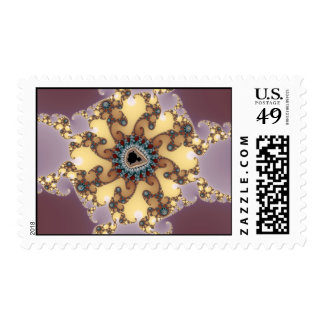 Atomic Particle - Fractal Stamp