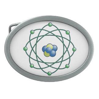 Atomic Particle Super Hero Belt Buckles
