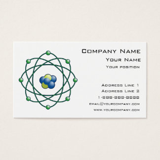 Atomic Particles Business Card