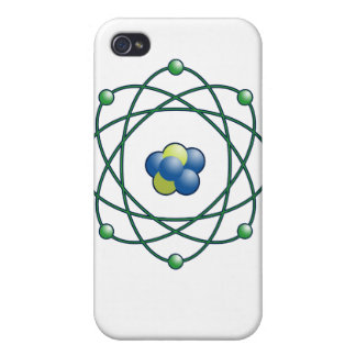 Atomic Particles Case For iPhone 4