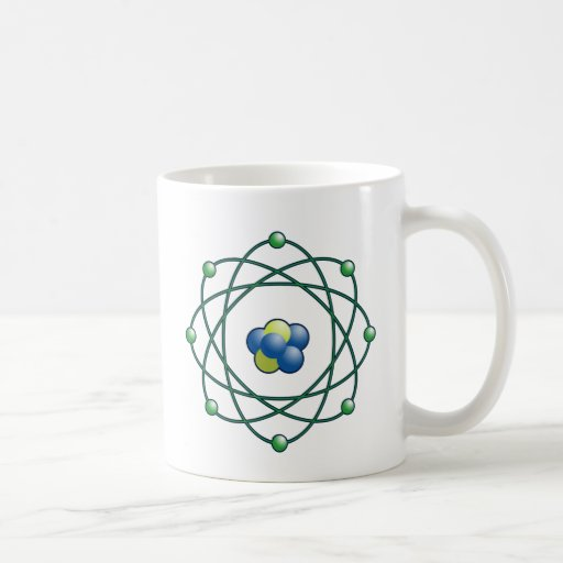 Atomic Particles Coffee Mugs