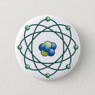 Atomic Particles Pinback Button