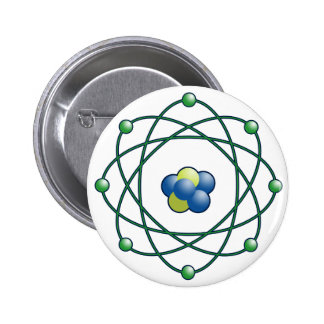 Atomic Particles Pinback Button