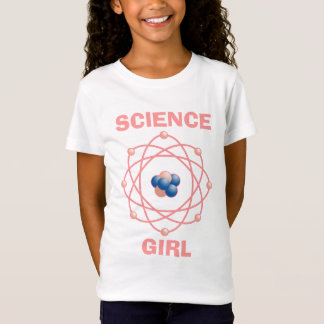 Atomic Particles Science Girl T-Shirt
